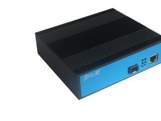 HEL-X815SN-20A/B百兆工业级单纤单模内电收发器