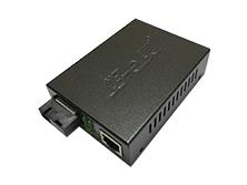 好易灵10/100/1000M自适应单模单纤外电收发器